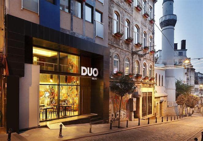duo galata hotel istanbul