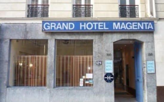 grand hôtel magenta pariz, grand hôtel magenta paris, grand hotel magenta paris