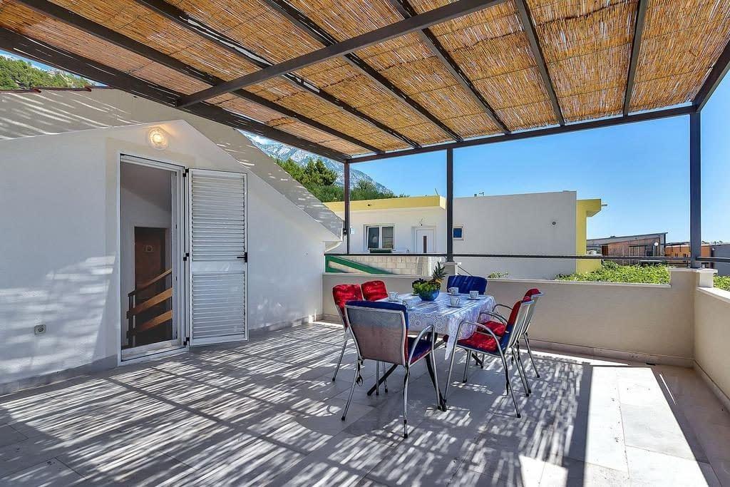 ctma214 kuća za odmor sa privatnim bazenom makarska