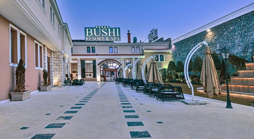 bushi resort and spa, bushi resort and spa hotel, bushi resort & spa skopje macedonia (fyrom)