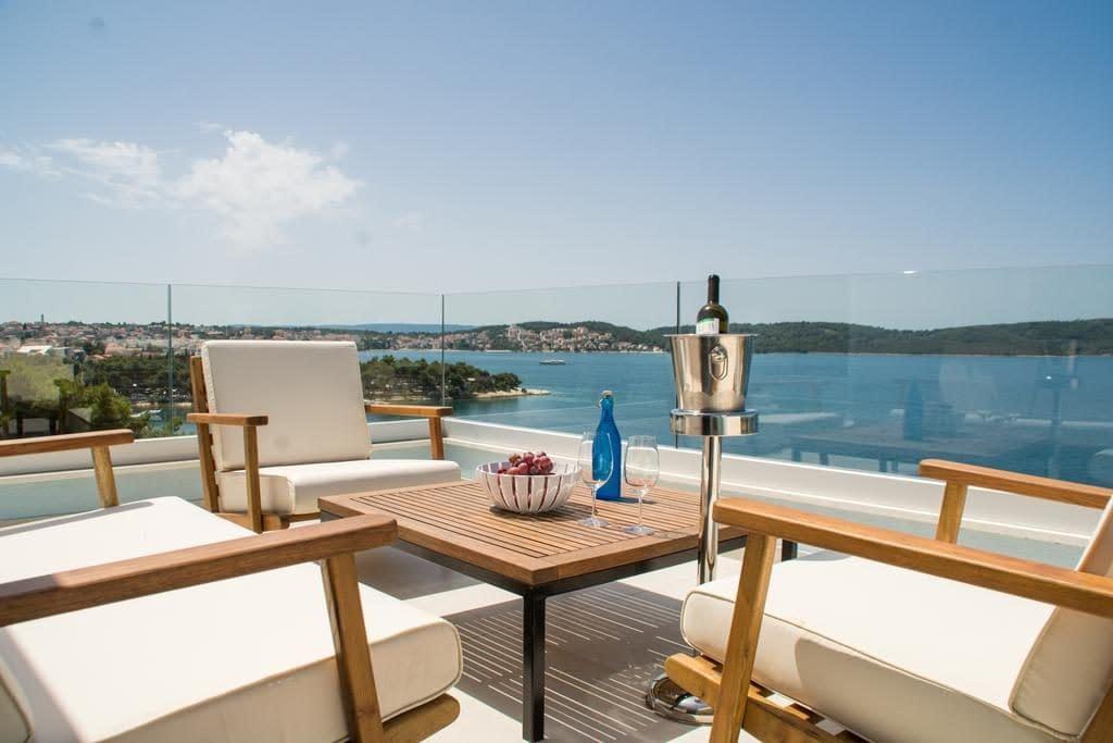 seafront luxury apartments fun, seafront luxury apartments fun trogir