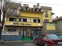 hotel vila sunce, hotel vila sunce stara pazova, hotel vila sunce pazova
