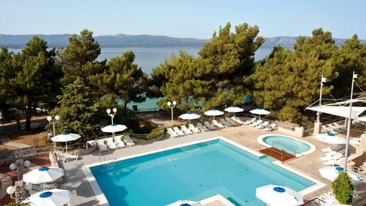 bluesun hotel borak bol, bluesun hotel borak bol croatia, bluesun hotel borak bol kroatien